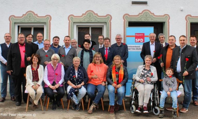 SPD Stadtratsliste 2020